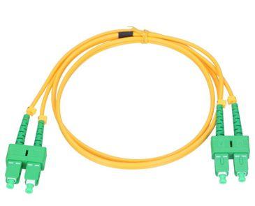 Patchkábel Optický SM E9 SC/APC-SC/APC DX LSZH 4m