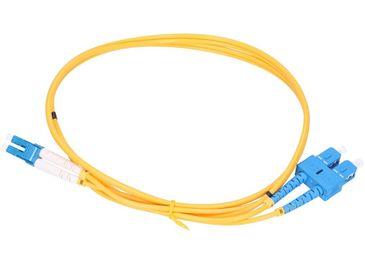 Patchkábel Optický SM E9 SC/UPC-LC/UPC DX LSZH 2m